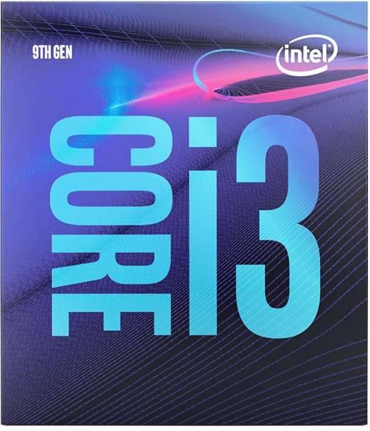 Intel Core i3-9100 3.6 GHz Upto 4.2 GHz LGA 1151 Socket 4 Cores 6 MB Smart Cache Desktop Processor