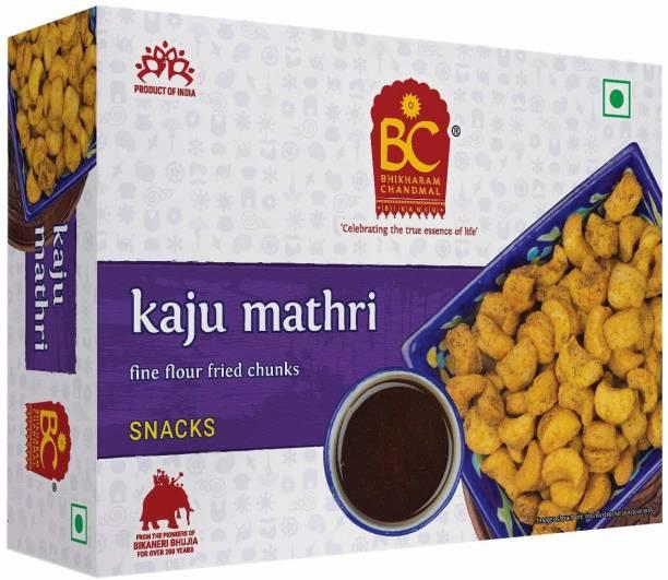 BHIKHARAM CHANDMAL Kaju Mathri 425gm (Pack of 1)