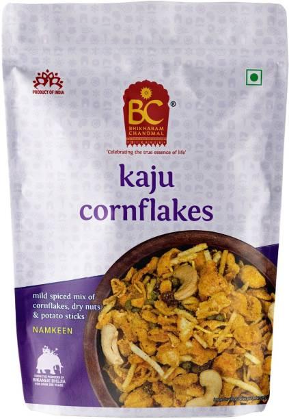 BHIKHARAM CHANDMAL Kaju Cornflakes Mixture Pack of 1