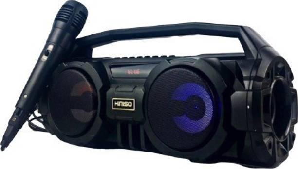 fiado kimiso-s1 with wired mic karaoke high wireless 24 W Bluetooth Speaker