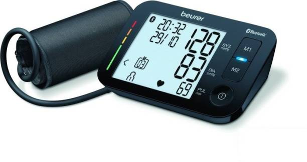 Beurer BM 54 Upper Arm Blood Pressure Monitor with HealthManager App & Bluetooth2 Bp Monitor