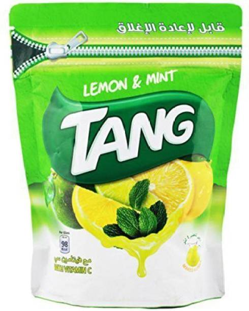 TANG Lemon and Mint Drink Powder (Imported) Resealable Nutrition Drink Energy Drink
