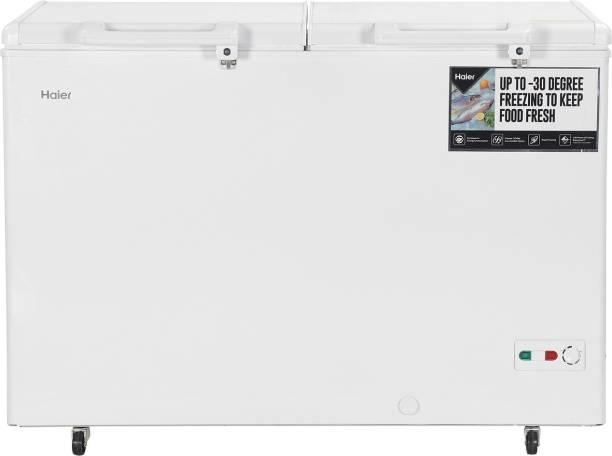 Haier 379 L Double Door Standard Deep Freezer