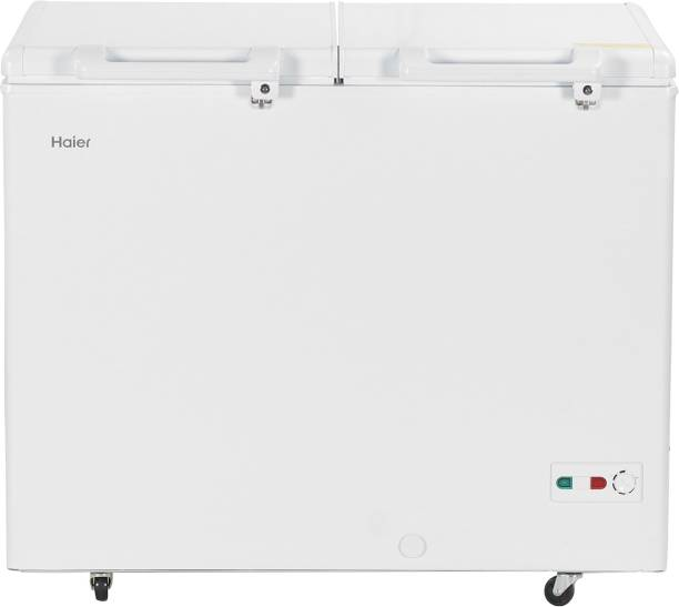 Haier 319 L Double Door Standard Deep Freezer