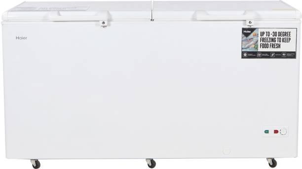Haier 429 L Double Door Standard Deep Freezer