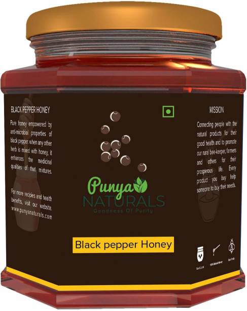 Punya Naturals Orgainc BLACK PEPPER HONEY