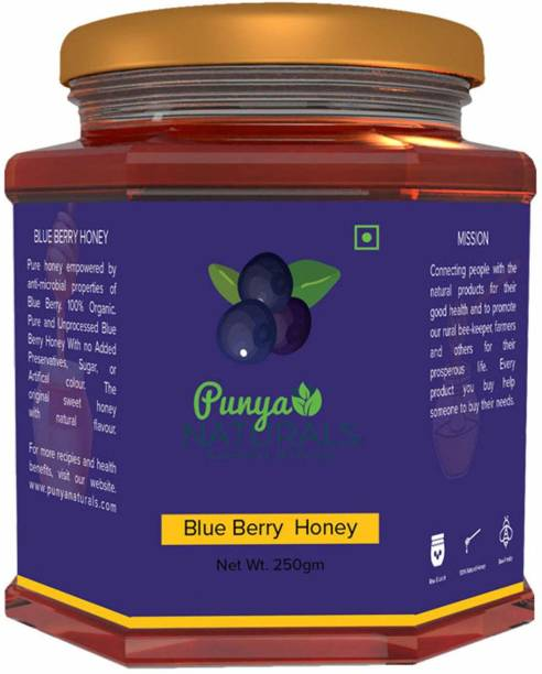 Punya Naturals Orgainc BLUE BERRY