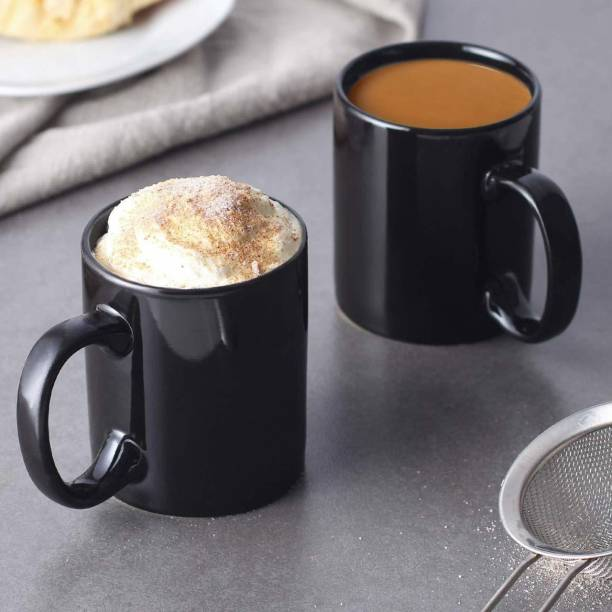 Youth Style Full Black Plane Coffee and Tea Ceramic- 11Oz Black Gift for Birthday , anniversary Couple, Friends, Lover, beutyfull set of 2 Ceramic Coffee Mug