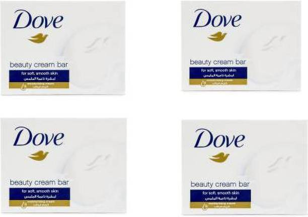 DOVE Original Beauty Cream Bar ( Pack of 4) 100g Each