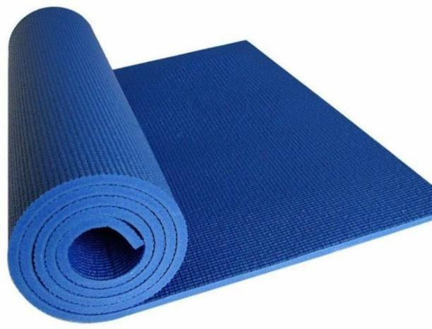 BELOWCLUB Yoga Mat High Density, Anti-Slip Yoga mat for Gym Workout and Flooring Exercise Blue 4 mm Yoga Mat
