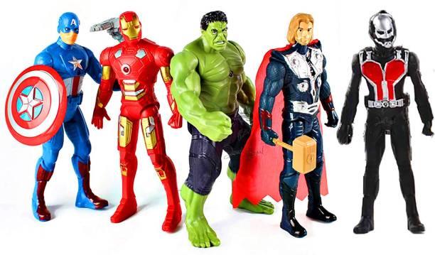 poksi avengers of ultron (pack of 5 avengers)