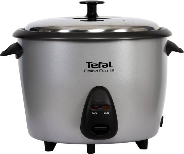 Tefal TMC101 Electric Rice Cooker with Steaming Feature