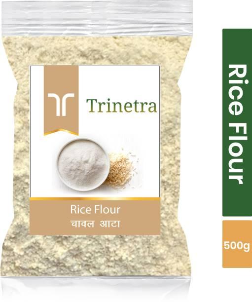 Trinetra Best Quality Rice Flour / Chaval Atta 500g