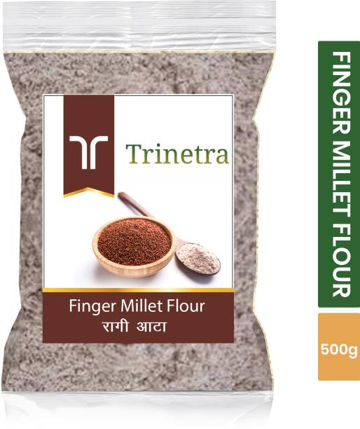 Trinetra Best Quality Finger Millet Flour / Ragi Atta 500g