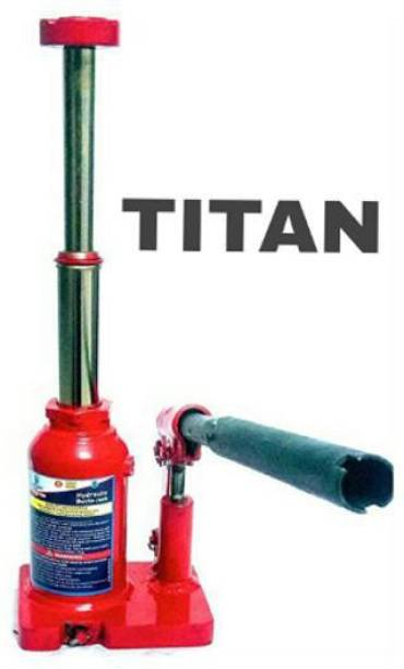 AutoVision Titan Hydraulic Bottle Jack 2 ton Double Lift for All Cars and SUV Vehicle Tool Kit