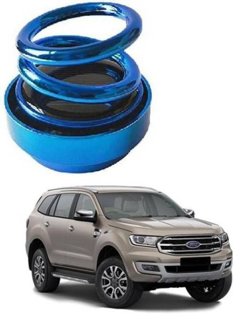 KARDECK Solar Car Fragrance Double Ring Rotating Car Aromatherapy Home Office Air Fresher Decoration Perfume Diffuser For Ford-Blue20 Air Purifier