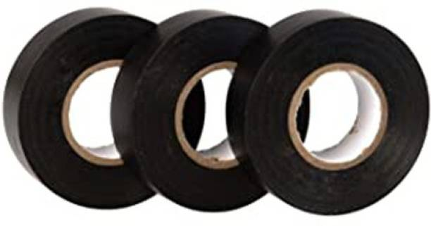 Rauma Plastic Polymer Tape R_E_T_Black_(Pack of 3)