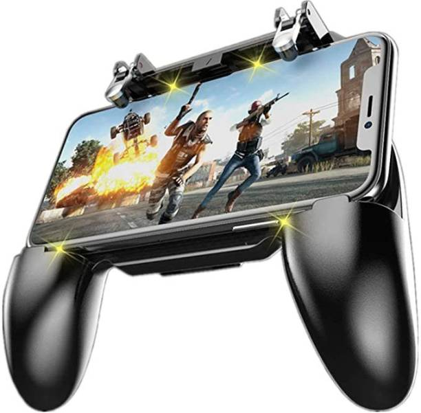 CASADOMANI AK16 Gamepad for Mobile Phone Game Controller L1 R1 Wireless Controller Trigger Games PUBG Gamepad for Mobile Phone Gamepad (Black, For PS3, Android, iOS)  Gaming Accessory Kit
