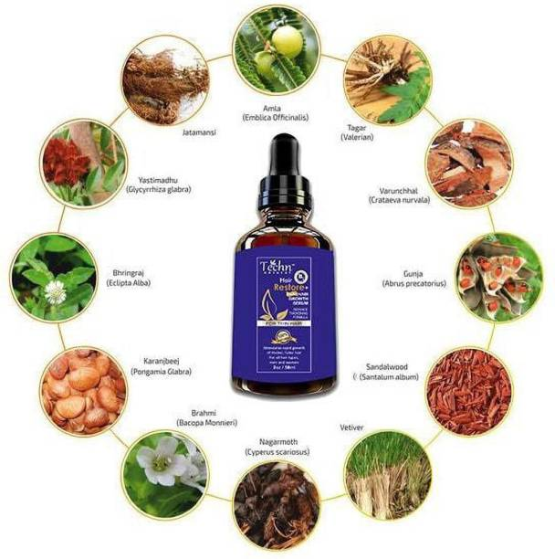 Techn Natural Hair Restore Biotin Hair Growth Serum