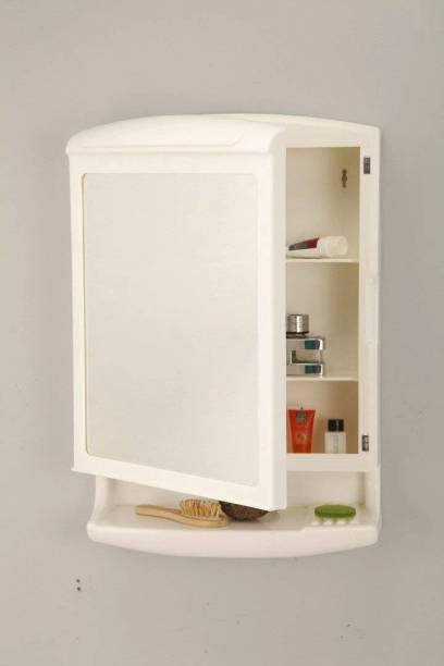 PARASNATH Prime Large Heavy Pride Bathroom Cabinet with Mirror ( Surface Mounting Medicine Cabinet