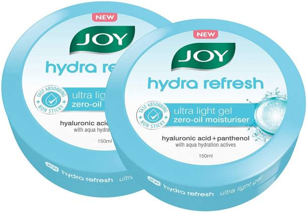 Joy Hydra Refresh Ultra Light Gel Moisturiser (Pack of 2 x 150ml)