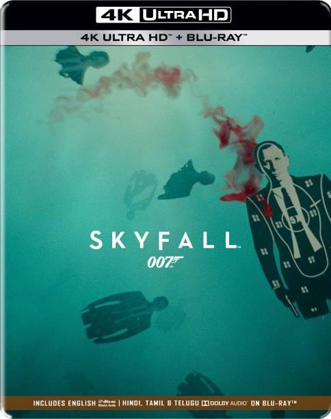 007: Skyfall - Daniel Craig as James Bond (Steelbook) (4K UHD & HD) (2-Disc)