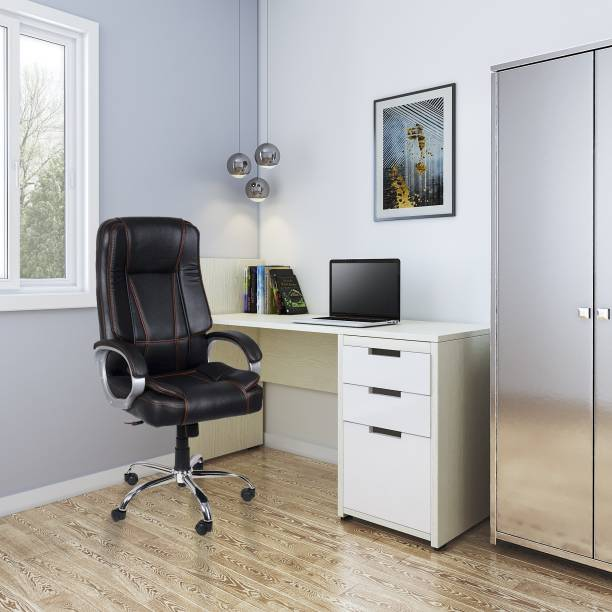 Flipkart Perfect Homes Reclining Leatherette Office Executive Chair