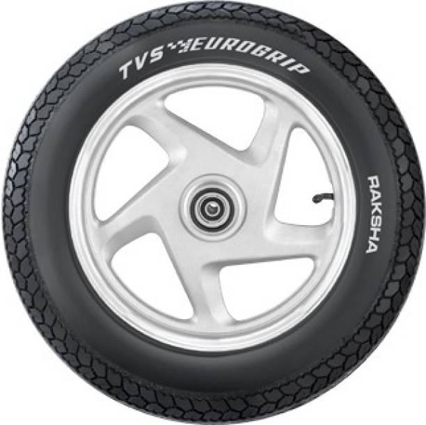 TVS Eurogrip Raksha 3.50 - 8 46 J Front & Rear Tyre