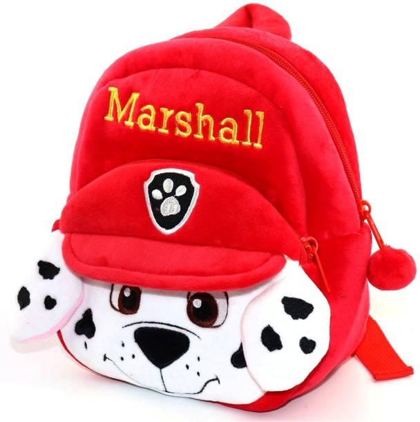 DZert Kids School Bag Marshall Soft Plush Cartoon Baby Boys/Girls Plush Bag