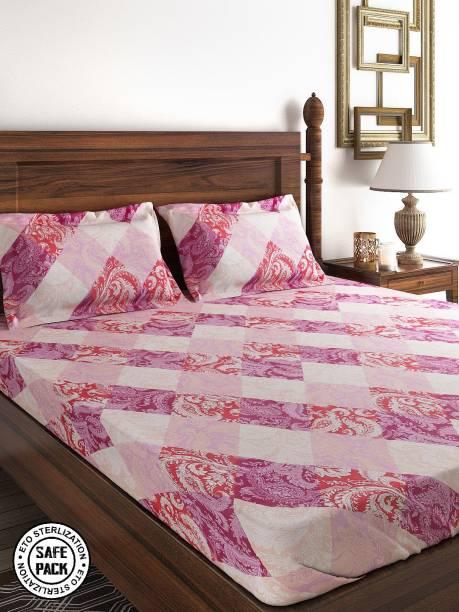 SWAYAM 160 TC Cotton Double Printed Bedsheet