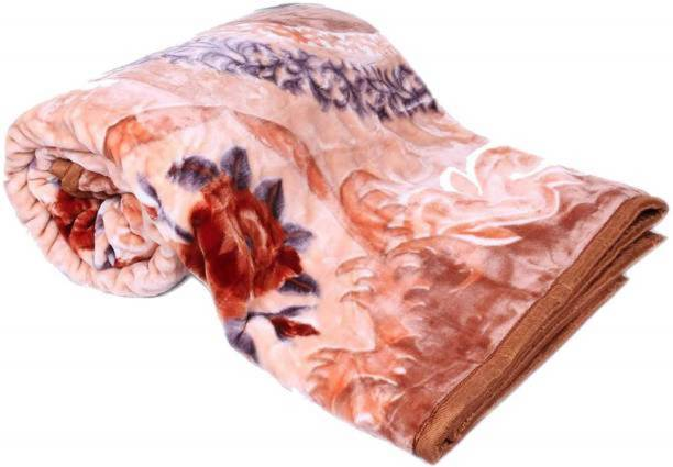 Swikon star Floral Double Mink Blanket