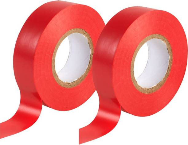 Rauma Plastic Polymer Tape Red Electric Tape (Pack of 2)