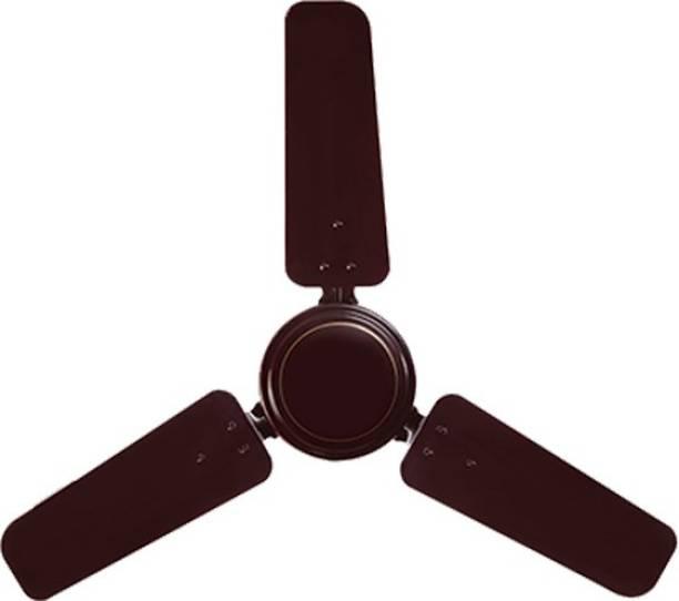 USHA swift 900 mm brown 900 mm 3 Blade Ceiling Fan
