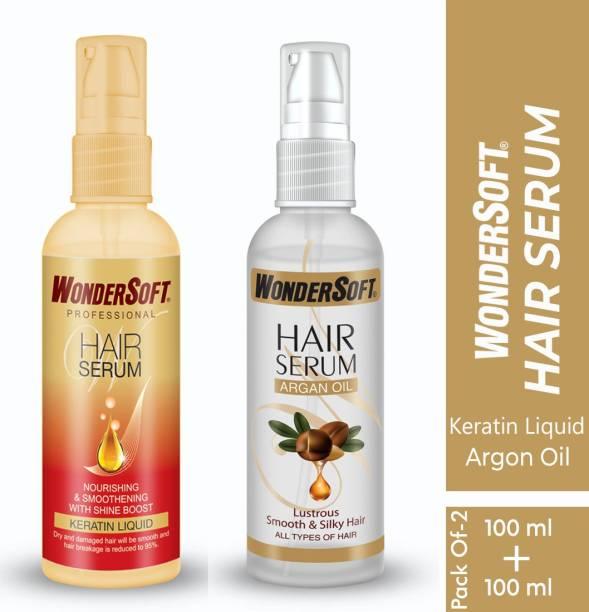 Wondersoft Professional Hair Serum With Keratin And Argan
