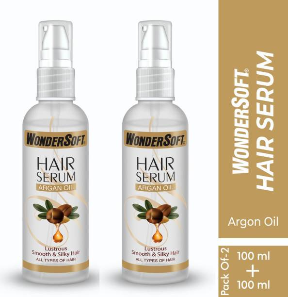 Wondersoft Professional Hair Serum with Argan oil For Smooth And Silky Hair