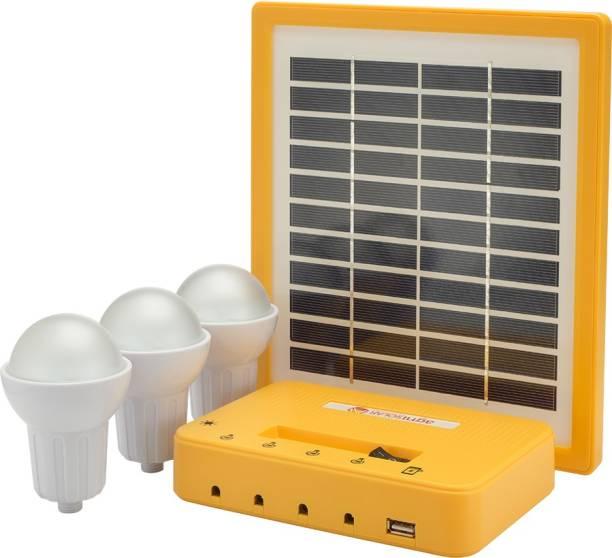Agni Solar Home Lighting Kit 3 Solar Light Set