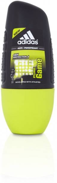 ADIDAS PURE GAME ANTI-PERSPIRANT Deodorant Roll-on  -  For Men
