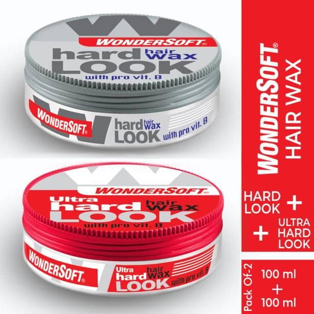 Wondersoft Hard Look & Ultra Hard Look Hair Wax Hair Wax