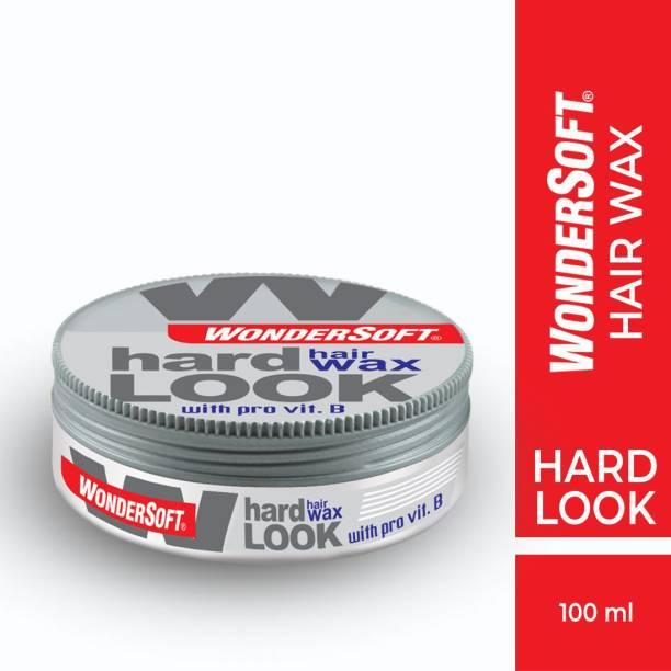 Wondersoft Hard Look Hair Wax With Pro Vitamin-B Hair Wax