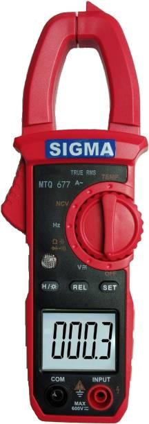 SIGMA AC Clamp Meter MTQ 677 TRMS, Current Upto 4000 A AC Digital Multimeter