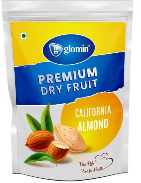 Glomin California Almond Raw 500g (pack of 1) Almonds (500 g) Almonds