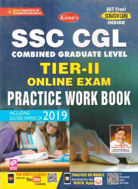 SSC CGL Combind Graduate Level Tier-2 Online Exam Practice Work Book