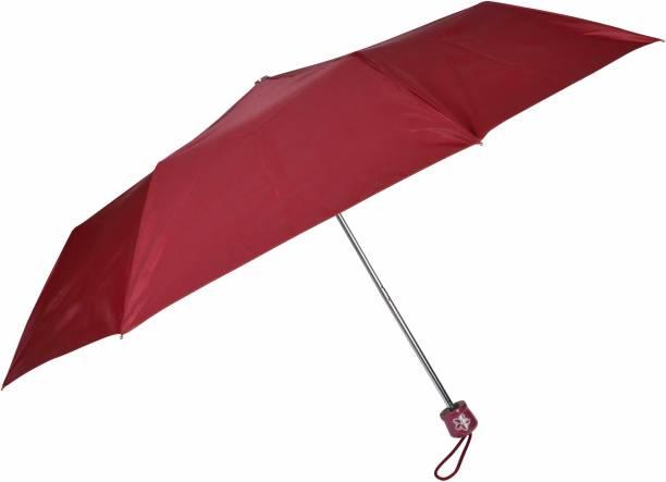 """Fendo Aura 3 Fold Hand Open 21"""" Men/Women Silver Coated Umbrella Umbrella"""