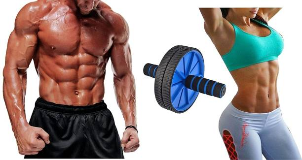 Wonder World ™ Ab Roller Wheel & Knee Pad - Abs Core Abdominal Workout Fitness Exerciser Ab Exerciser
