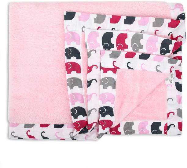 Miss & Chief Printed Single Crib Baby Blanket
