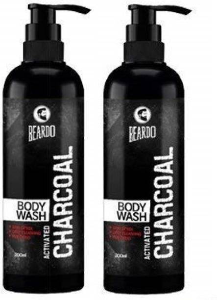 BEARDO Chracoal Body Wash