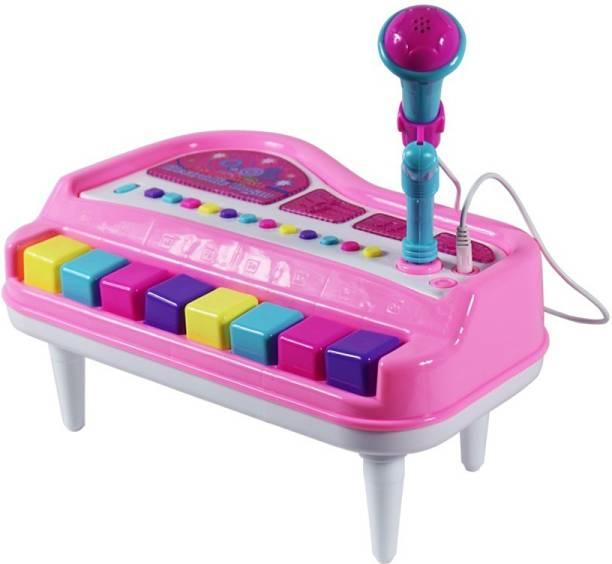 Tector Mini Musical Electronic Organ Piano Keyboard with Microphone
