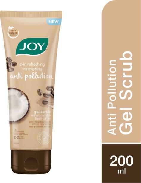 Joy Skin Refreshing & Energising Anti Pollution Gel (with Coconut & Coffee) Scrub