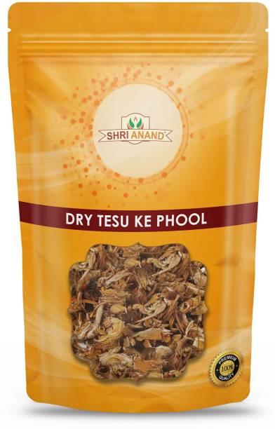 SHRI ANAND Dry Tesu Phool,Palash,Dhak Ka Phool,Butea Monosperma (100 Gram)