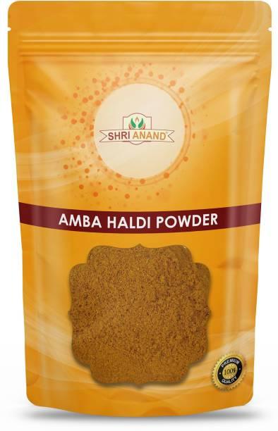 SHRI ANAND Wild Kasturi Turmeric Manjal Amba Haldi Powder (100 Gram)